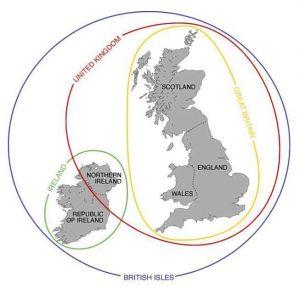 diferença entre Inglaterra, Grã-Bretanha e Reino Unido